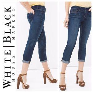 White House Black Market Crop Jean